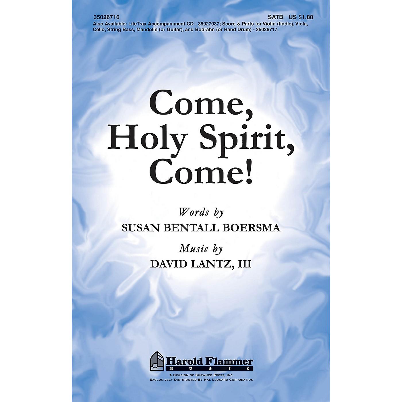 Shawnee Press Come, Holy Spirit, Come! SATB composed by David Lantz III thumbnail