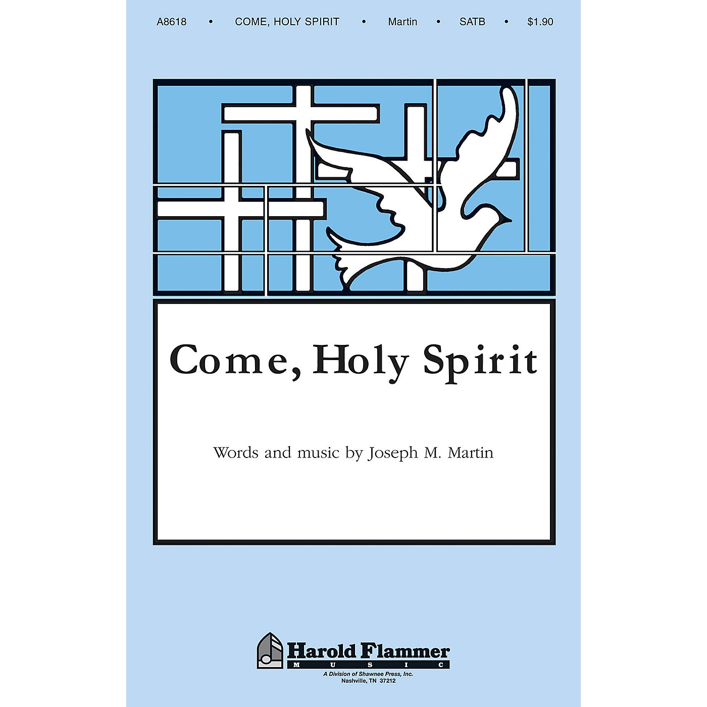 Shawnee Press Come, Holy Spirit SATB composed by Joseph M. Martin thumbnail