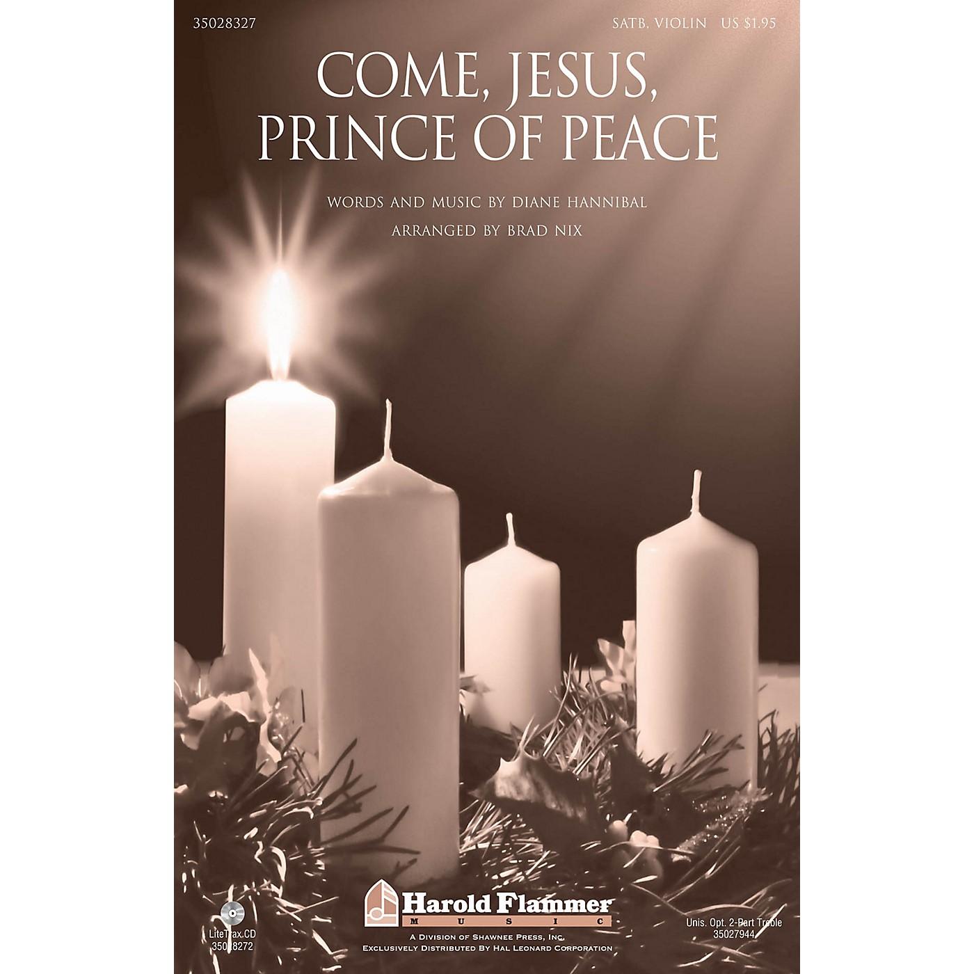Shawnee Press Come, Jesus, Prince of Peace SATB arranged by Brad Nix thumbnail
