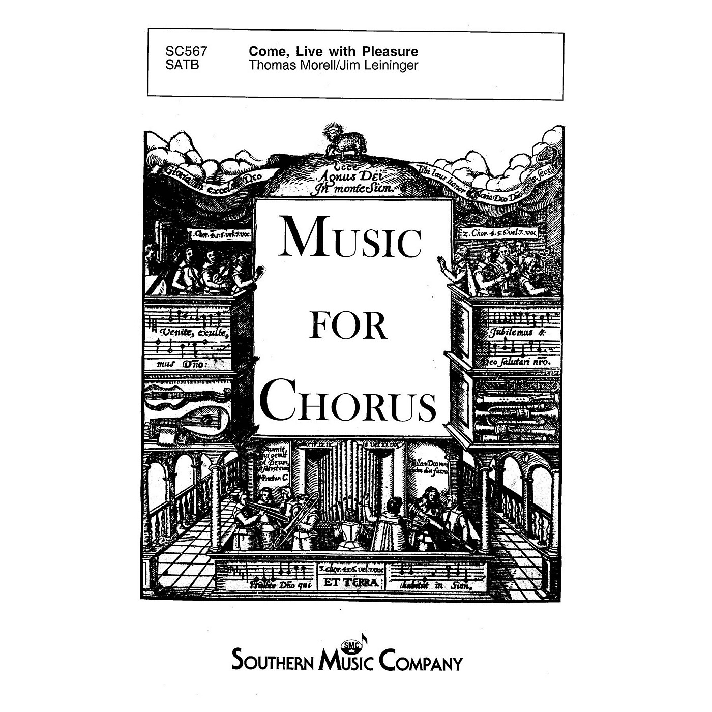 Southern Come, Live with Pleasure SATB Composed by Jim Leininger thumbnail