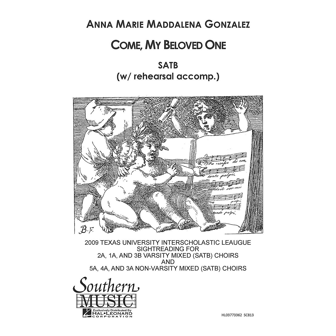 Southern Come My Beloved SATB Composed by Anna Marie Gonzalez thumbnail