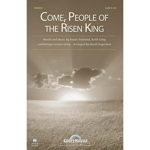 Shawnee Press Come, People of the Risen King SATB arranged by David Angerman thumbnail