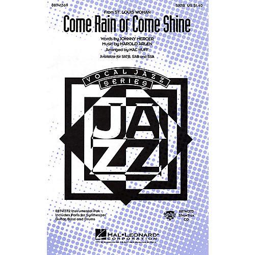 Hal Leonard Come Rain or Come Shine SSA Arranged by Mac Huff thumbnail