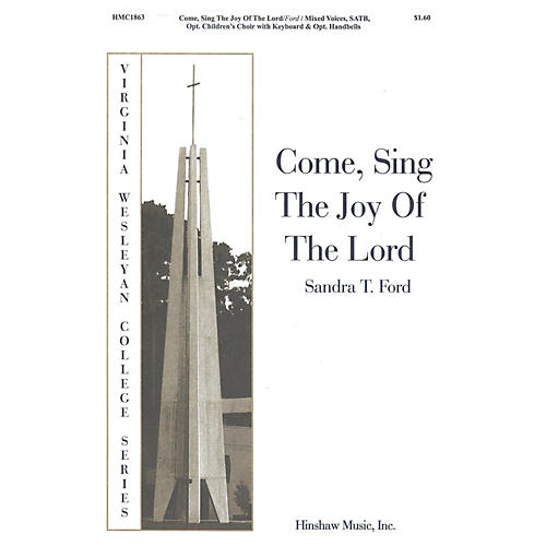 Hinshaw Music Come Sing the Joy of the Lord SATB composed by Sandra Ford thumbnail