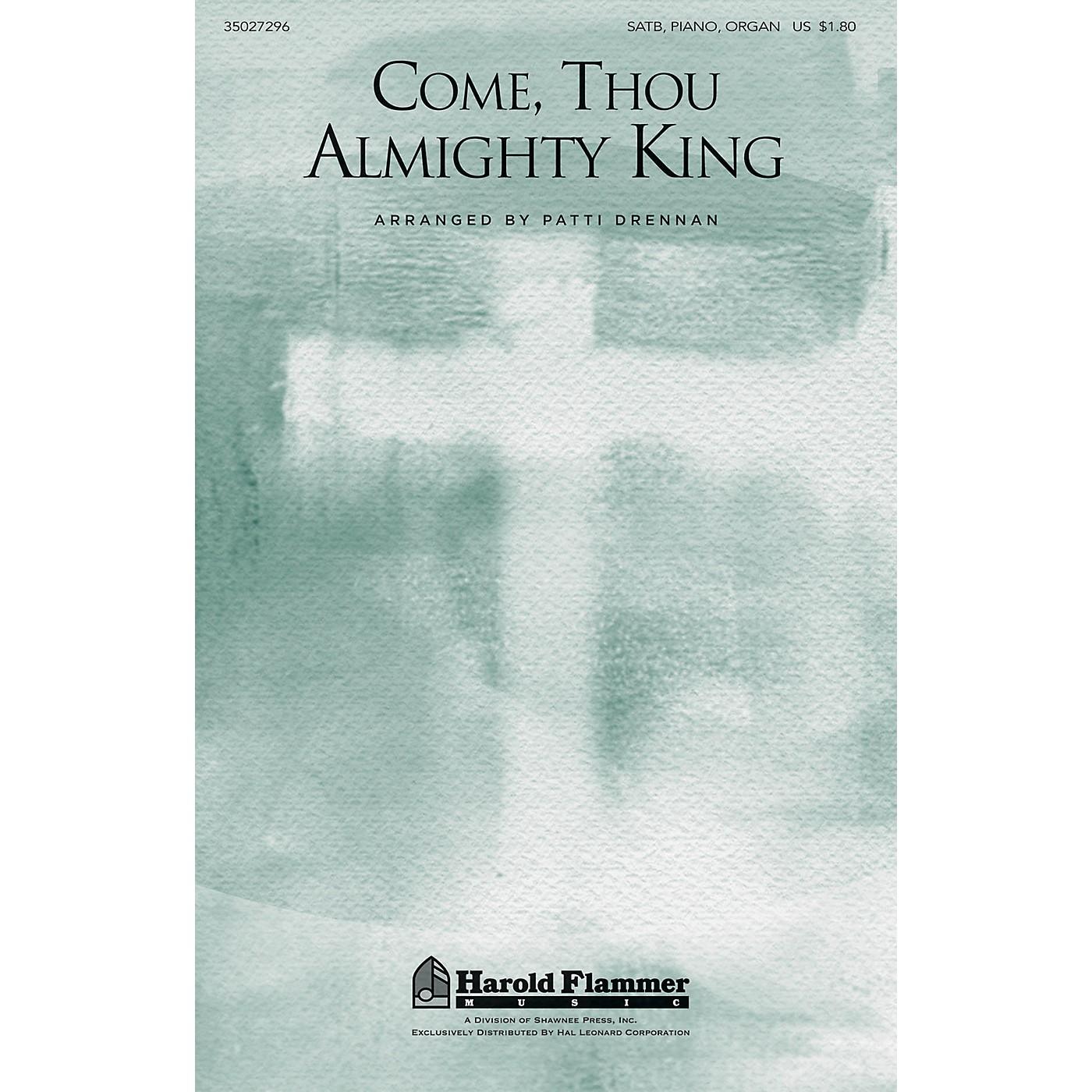 Shawnee Press Come, Thou Almighty King SATB, PIANO AND ORGAN arranged by Patti Drennan thumbnail