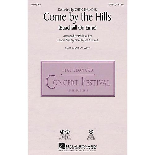 Hal Leonard Come by the Hills (Buachaill on Eirne) SSA by Celtic Thunder Arranged by John Leavitt thumbnail