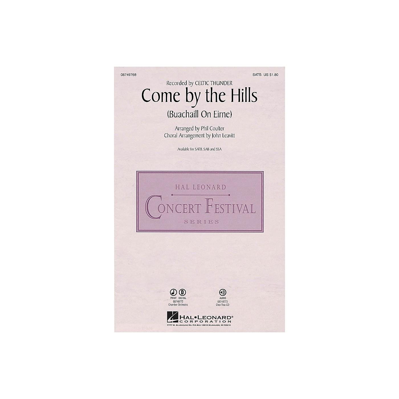 Hal Leonard Come by the Hills Digital Instrumental Pak Chamb by Celtic Thunder Arranged by John Leavitt thumbnail