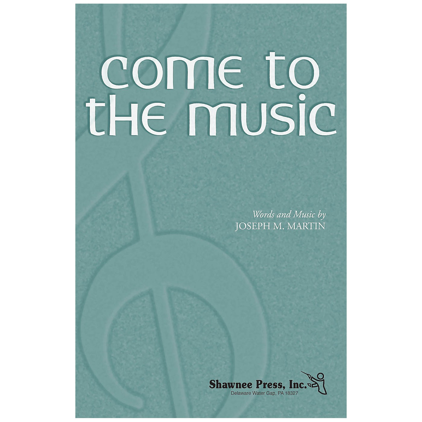 Shawnee Press Come to the Music TTBB composed by Joseph M. Martin thumbnail