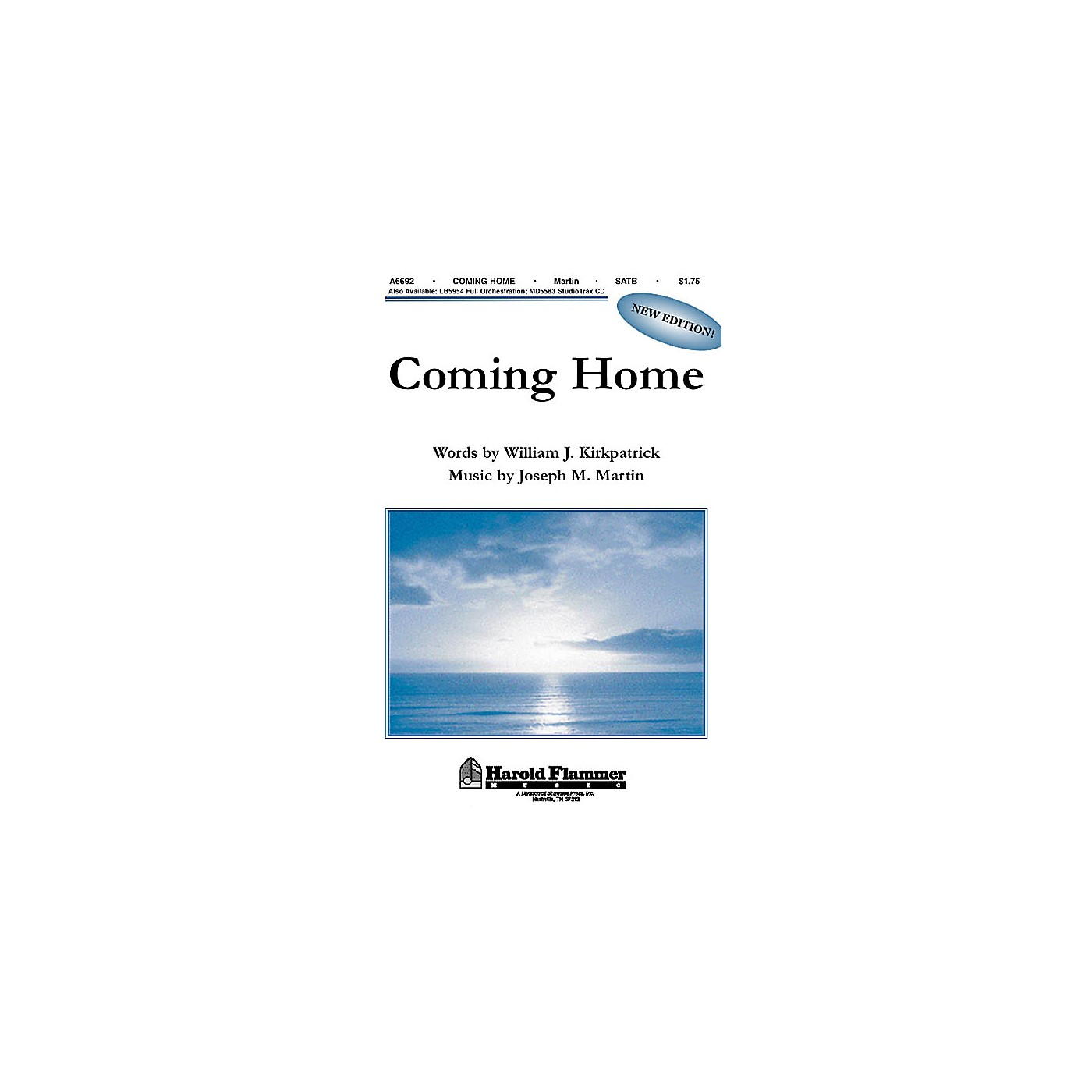 Shawnee Press Coming Home (from Legacy of Faith) SATB composed by Joseph M. Martin thumbnail