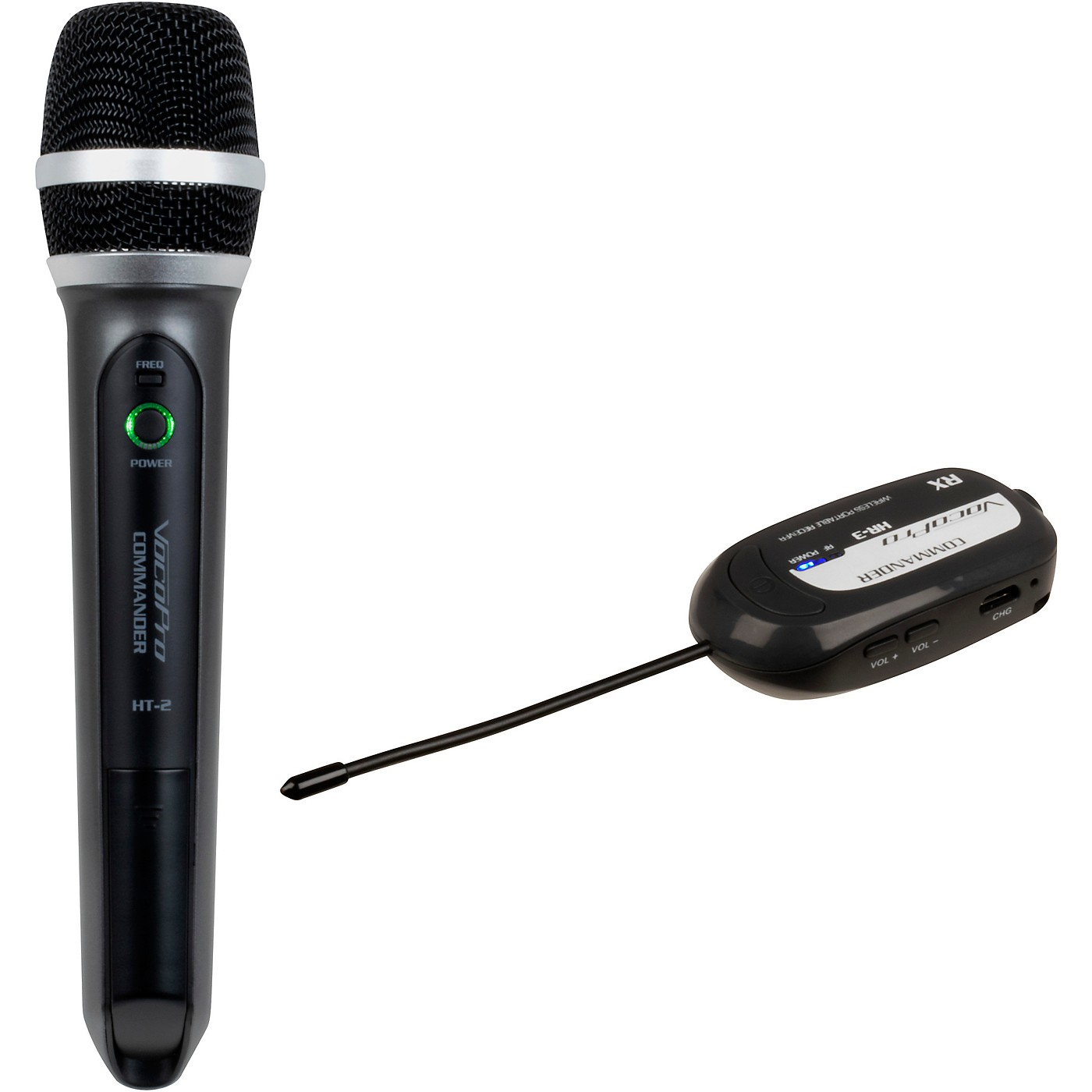 Vocopro Commander-Film-HandHeld Wireless UHF Microphone System thumbnail