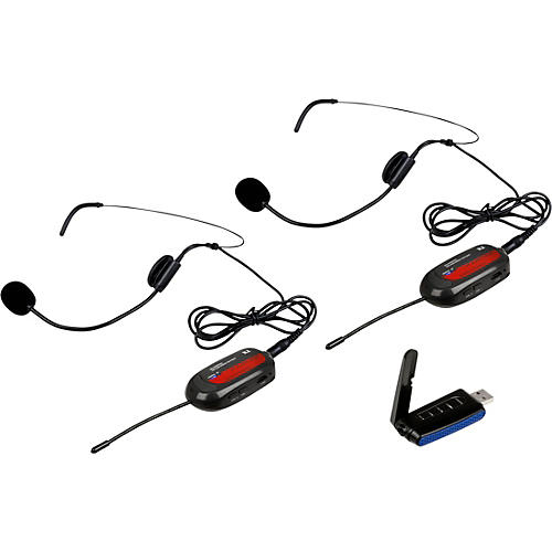 VocoPro Commander-Film-Headset1 Wireless UHF Headset Mic System for Digital Video Cameras Frequency Set 1 thumbnail