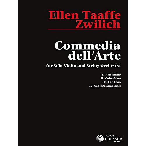 Theodore Presser Commedia Dell'Arte (Book) thumbnail