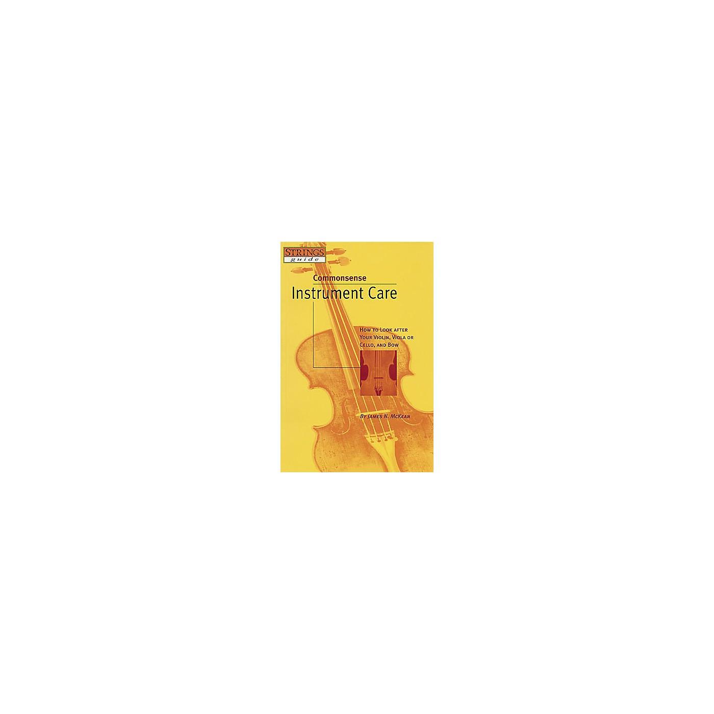Hal Leonard Commonsense Instrument Care thumbnail