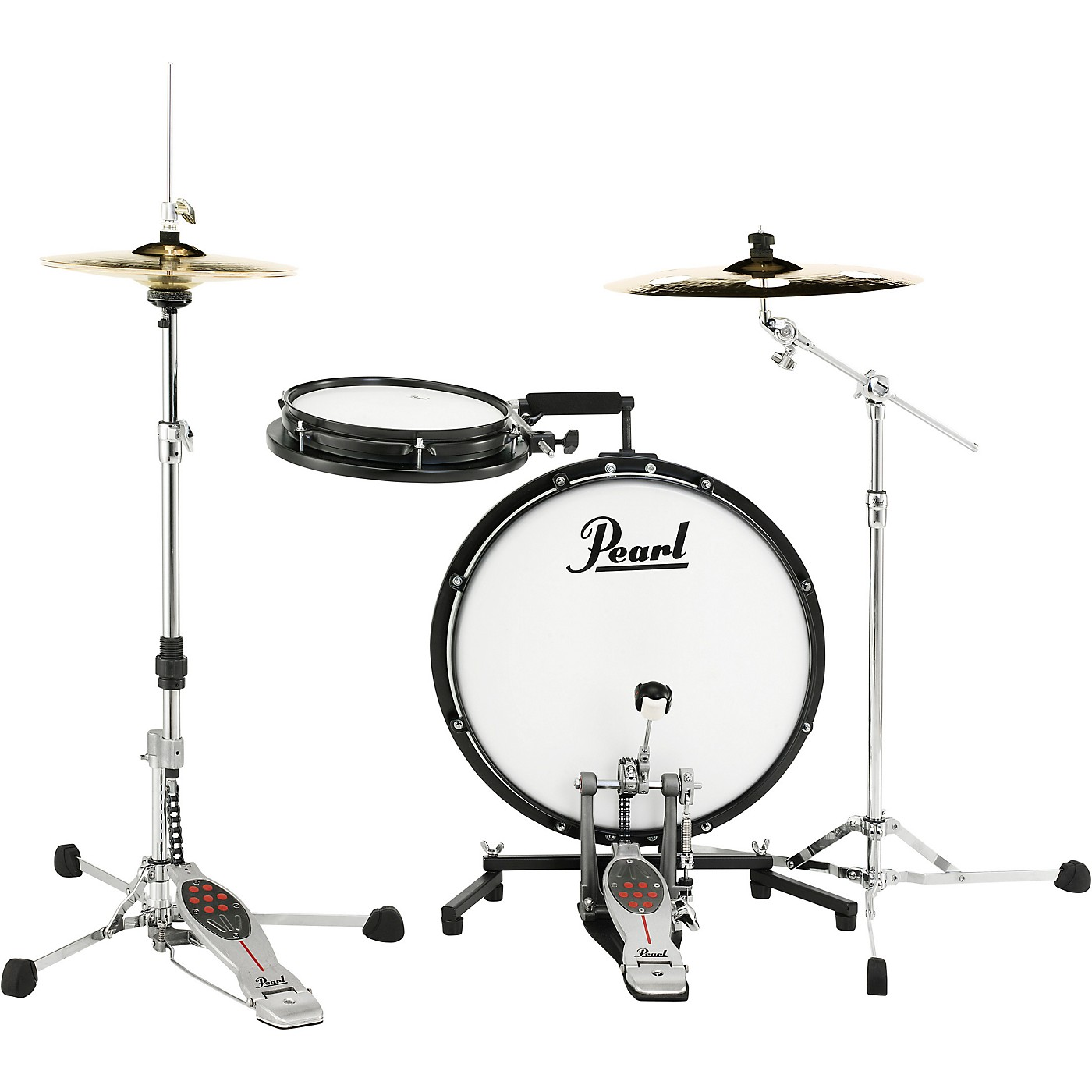 Pearl Compact Traveler 2-Piece Drum Kit thumbnail