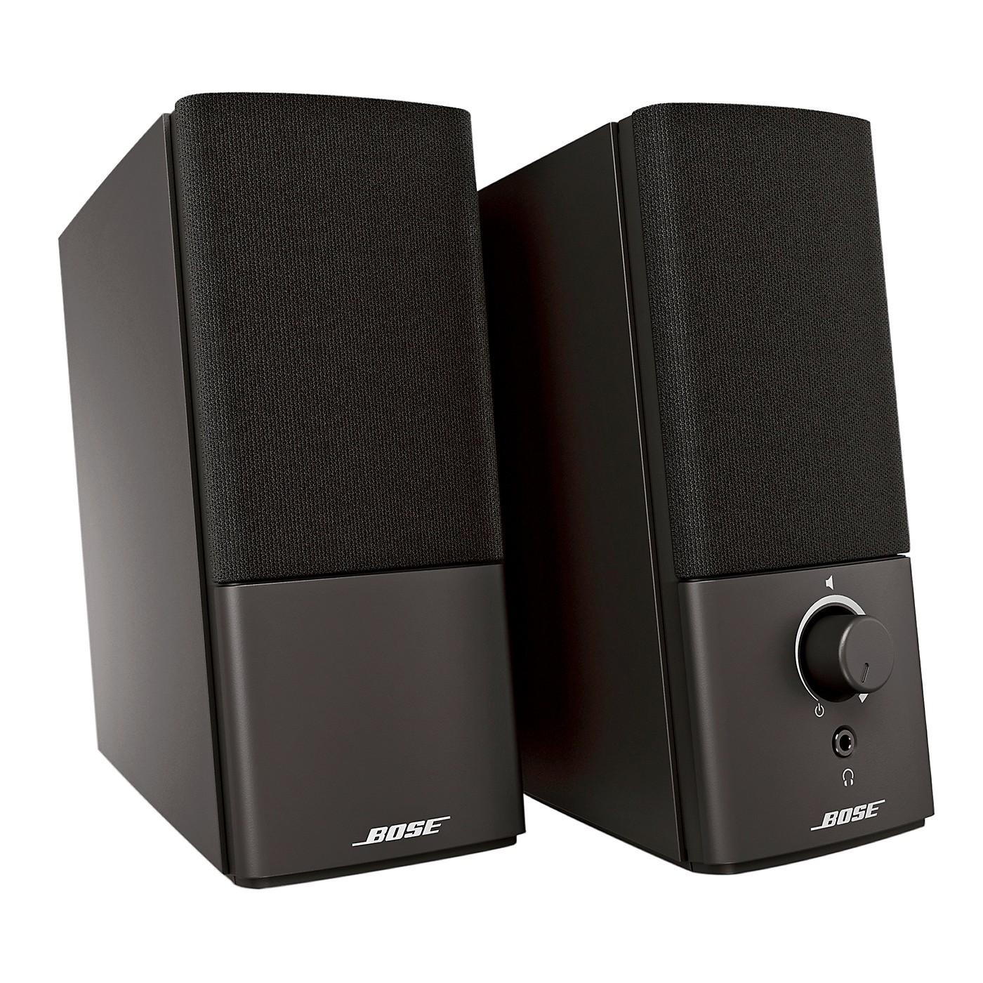 Bose Companion 2 Series III Multimedia Speaker System thumbnail