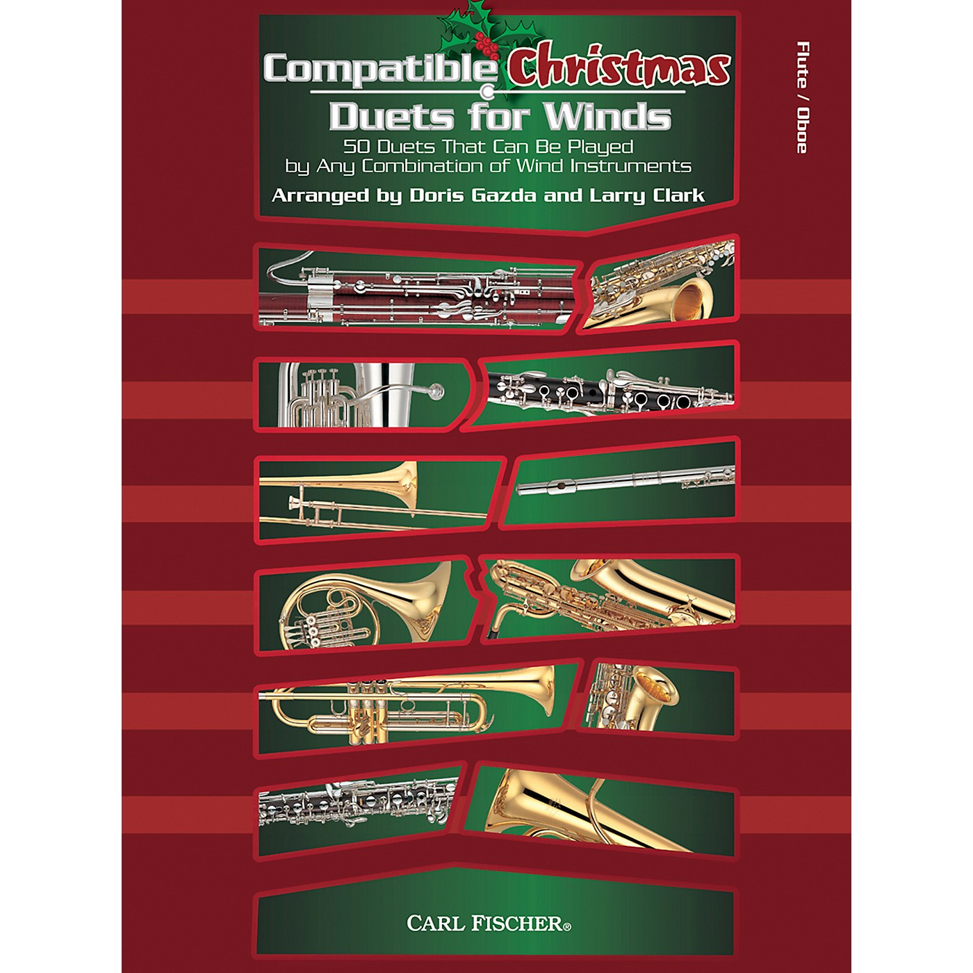 Carl Fischer Compatible Christmas Duets for Winds: Flute / Oboe thumbnail