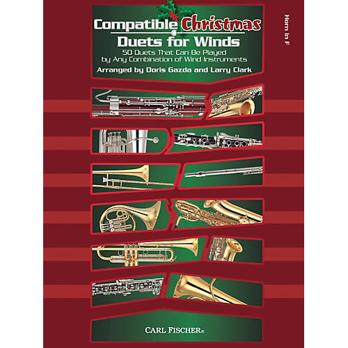 Carl Fischer Compatible Christmas Duets for Winds: French Horn thumbnail