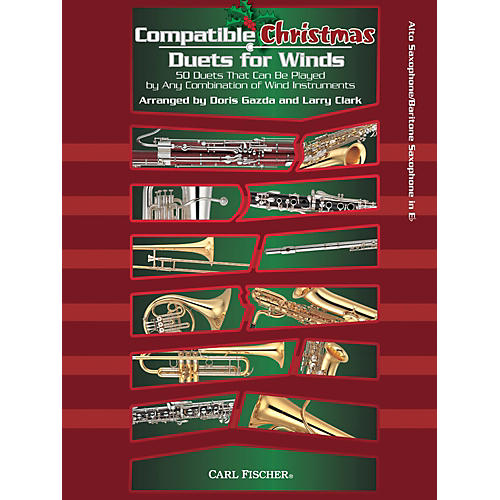 Carl Fischer Compatible Christmas Duets for Winds: thumbnail