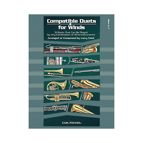 Carl Fischer Compatible Duets for Winds: Horn in F Book thumbnail