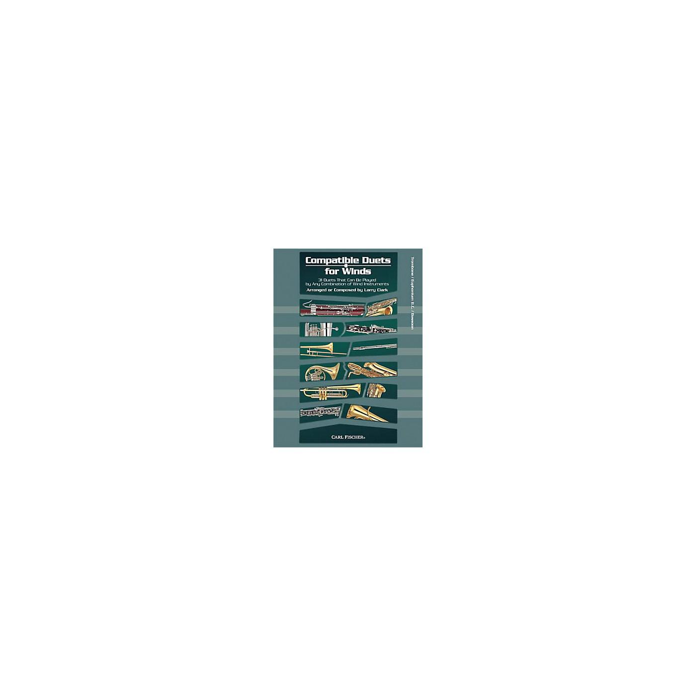 Carl Fischer Compatible Duets for Winds: Trombone/Euphonium B.C. Book thumbnail