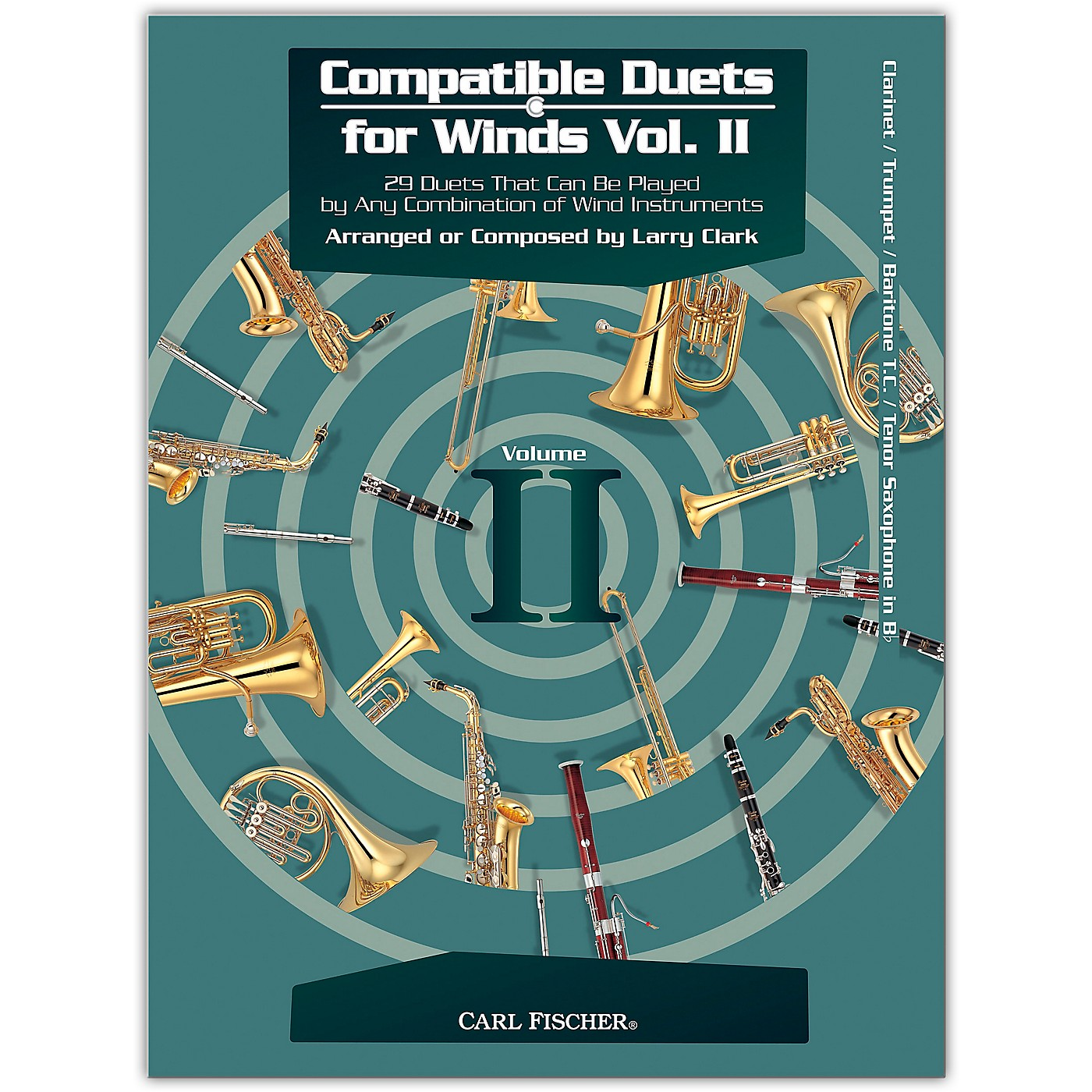 Carl Fischer Compatible Duets for Winds Volume II - Clarinet, Trumpet thumbnail