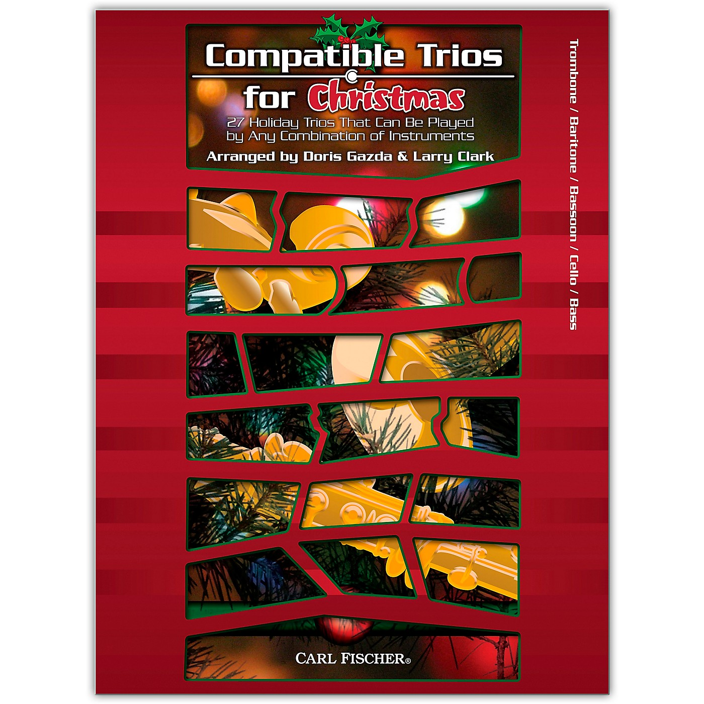 Carl Fischer Compatible Trios For Christmas – Trombone, Bassoon, Clarient and Bass thumbnail