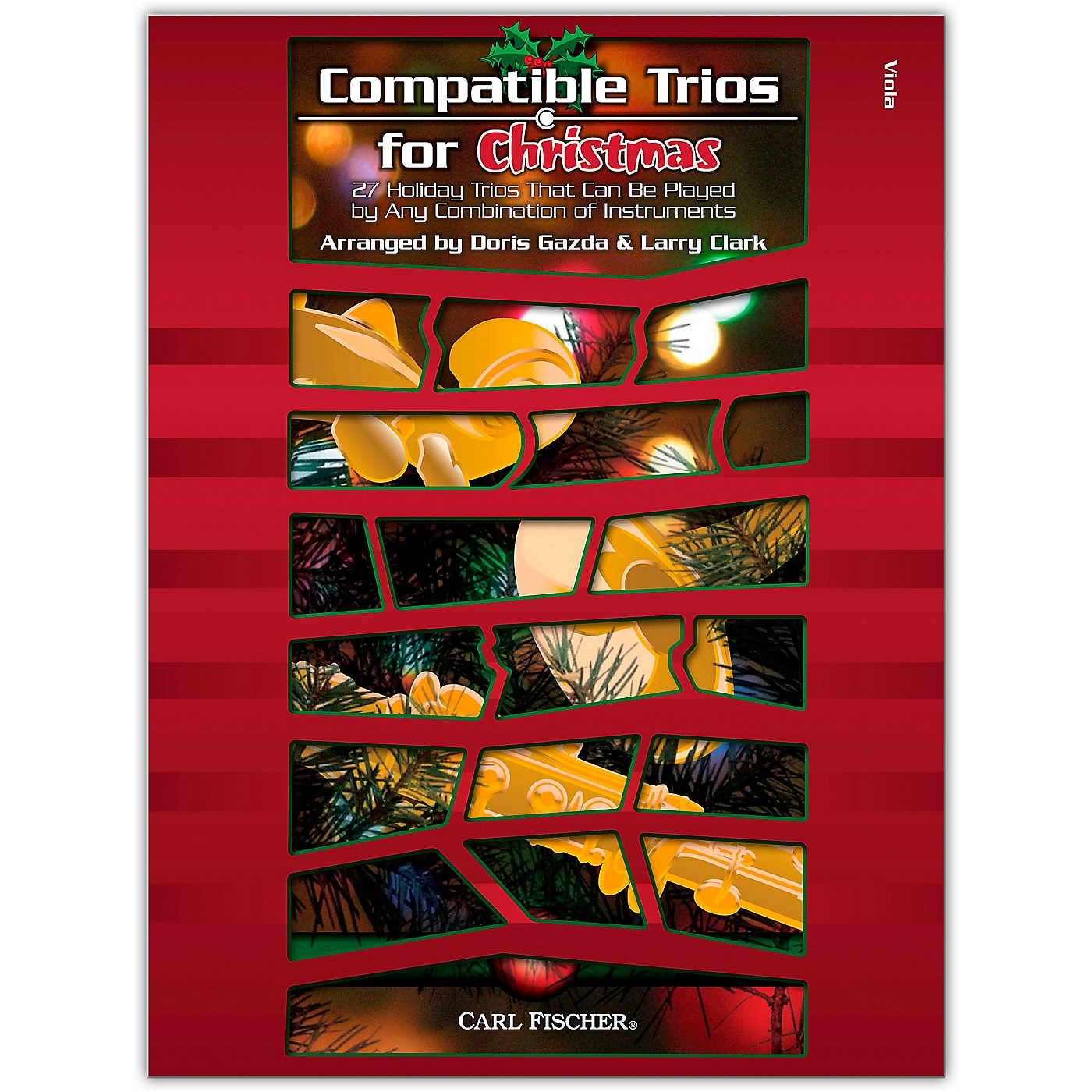 Carl Fischer Compatible Trios For Christmas – Viola thumbnail