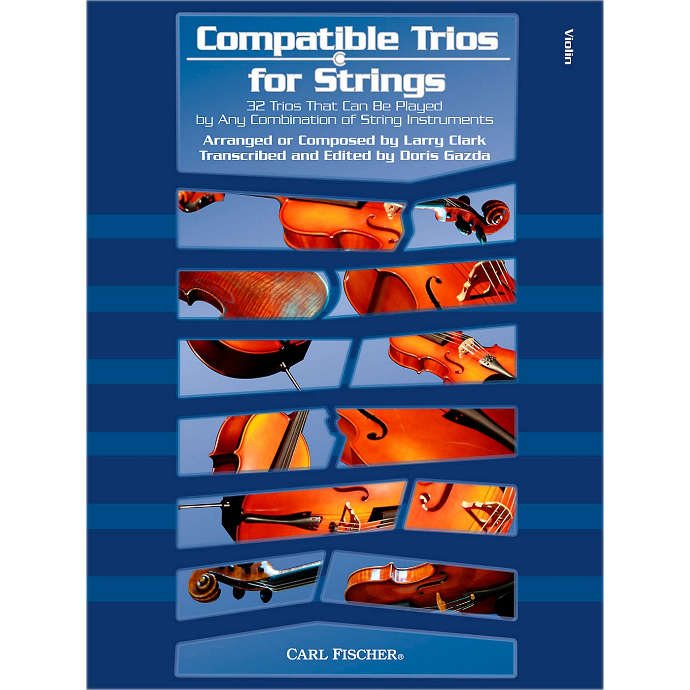 Carl Fischer Compatible Trios for Strings - Violin (Book) thumbnail