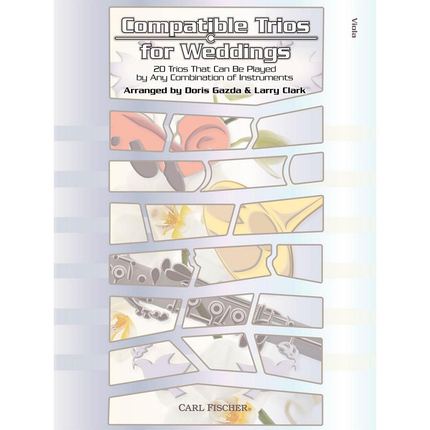 Carl Fischer Compatible Trios for Weddings - Viola thumbnail