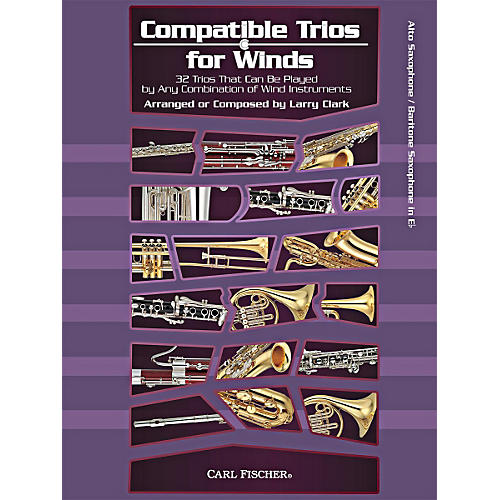 Carl Fischer Compatible Trios for Winds (Alto/Baritone Saxophone) thumbnail