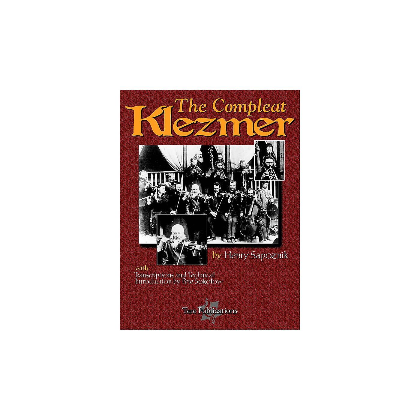 Tara Publications Compleat Klezmer Tara Books Series thumbnail