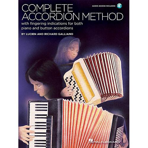 Hal Leonard Complete Accordion Method (Book/Audio Online) thumbnail