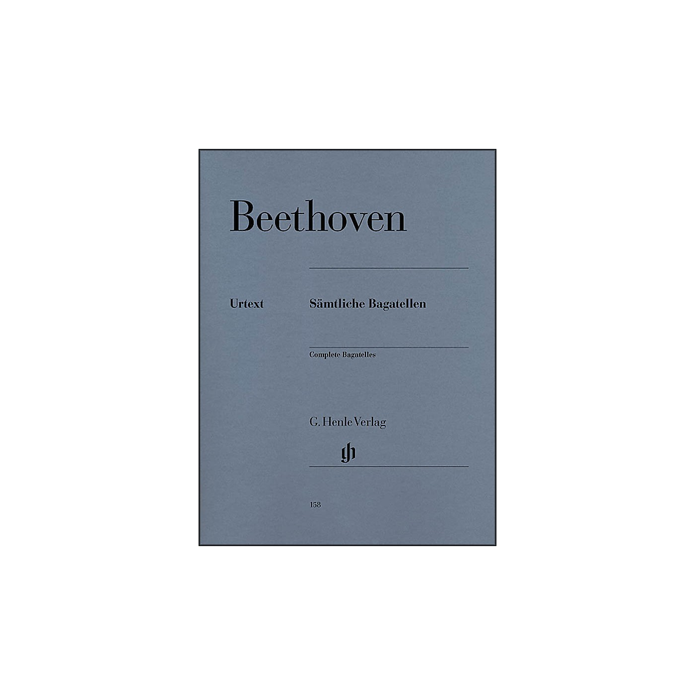 G. Henle Verlag Complete Bagatelles By Beethoven thumbnail