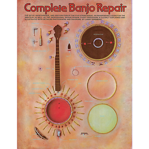 Music Sales Complete Banjo Repair Music Sales America Series Softcover Written by Larry Sandberg thumbnail