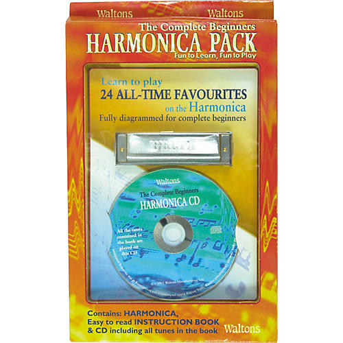 Waltons Complete Beginner's Harmonica Pack thumbnail