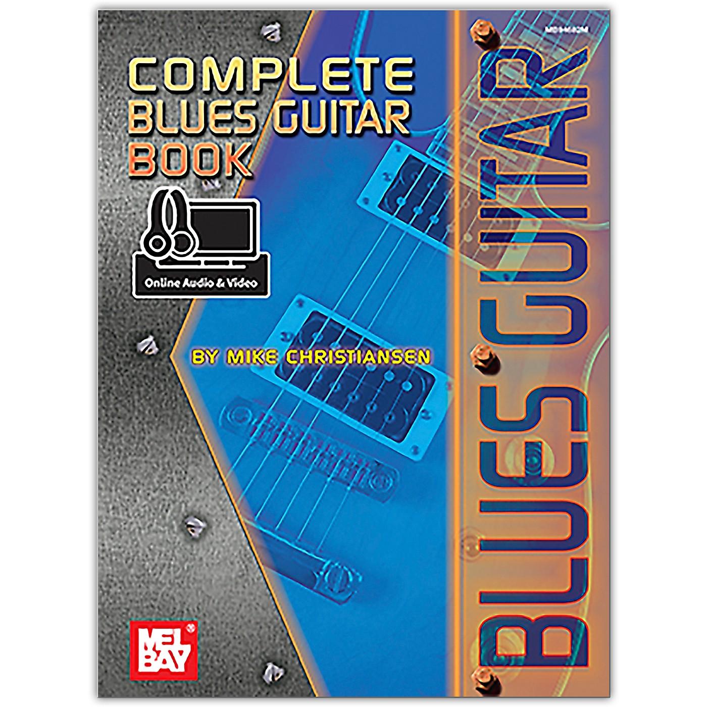 Mel Bay Complete Blues Guitar Book (Book + Online Audio/Video) thumbnail