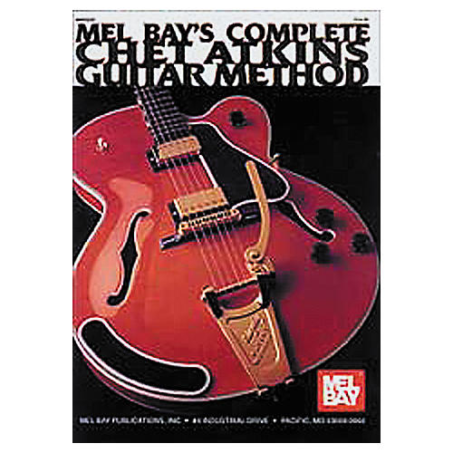 Mel Bay Complete Chet Atkins Guitar Method (Book/CD) thumbnail