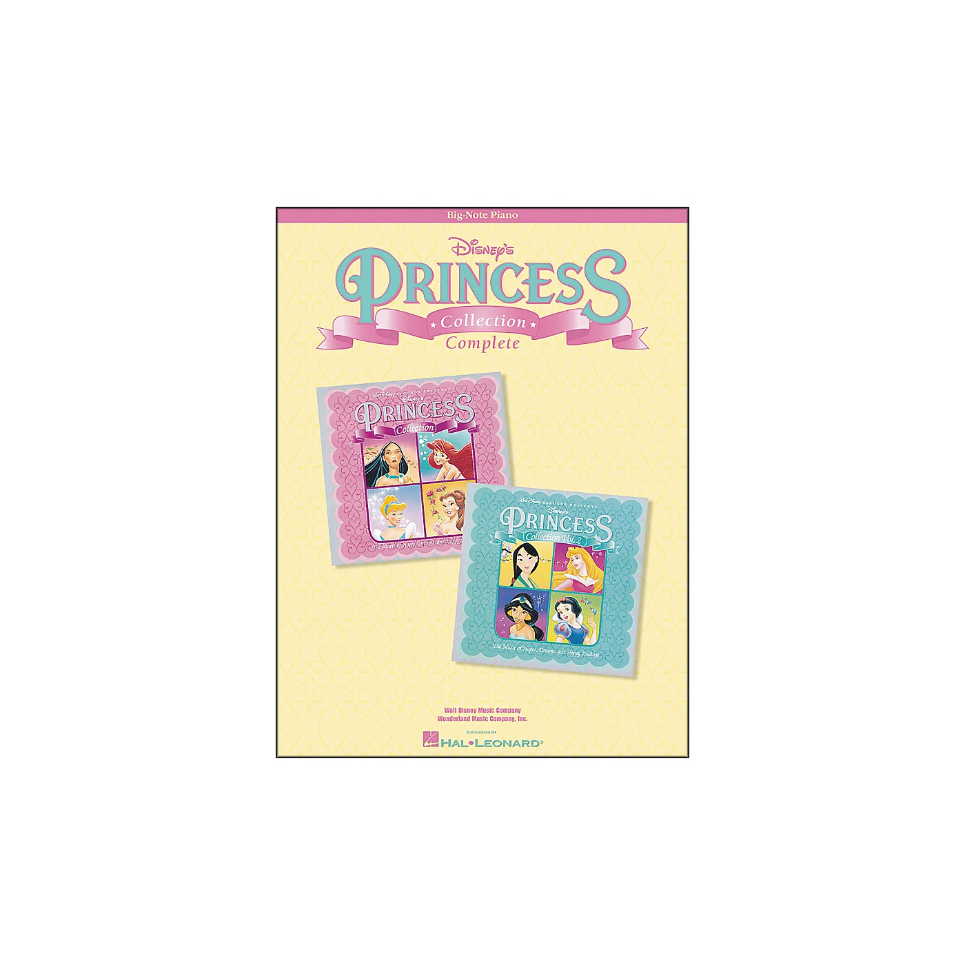 Hal Leonard Complete Disney's Princess Collection for Big Note Piano thumbnail