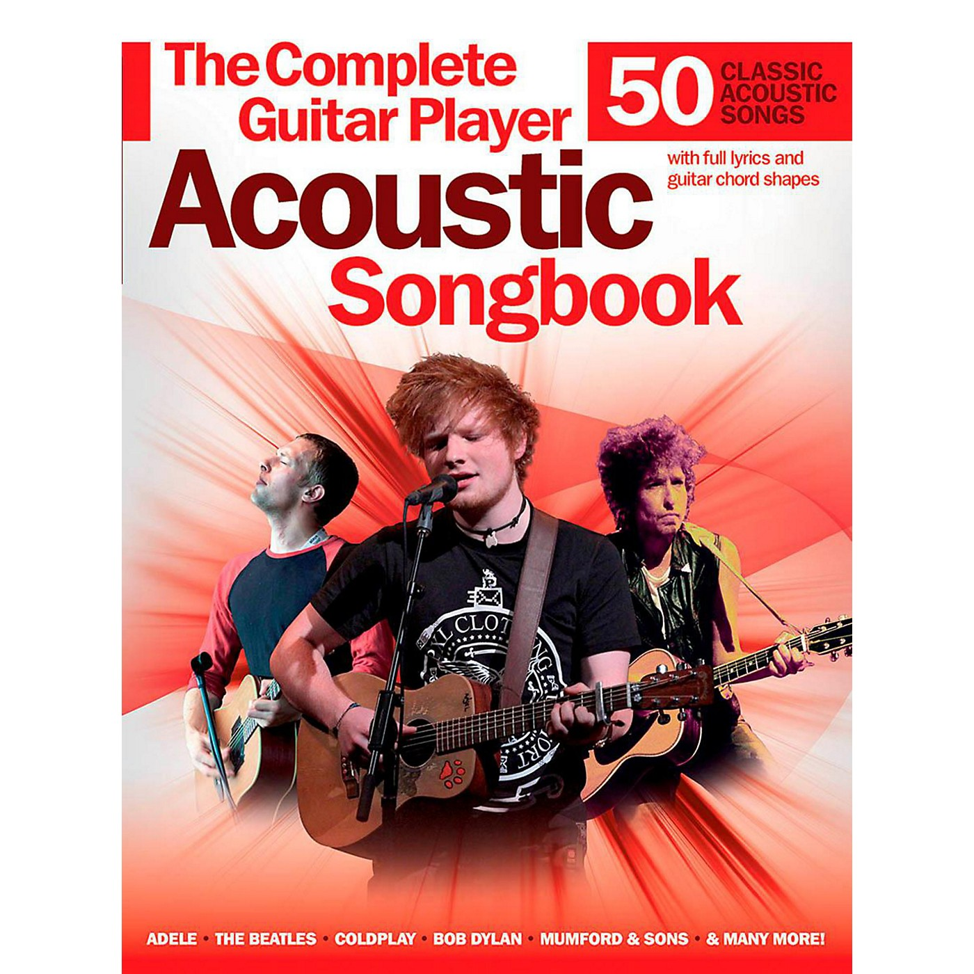 Music Sales Complete Guitar Player Acoustic Songbook thumbnail