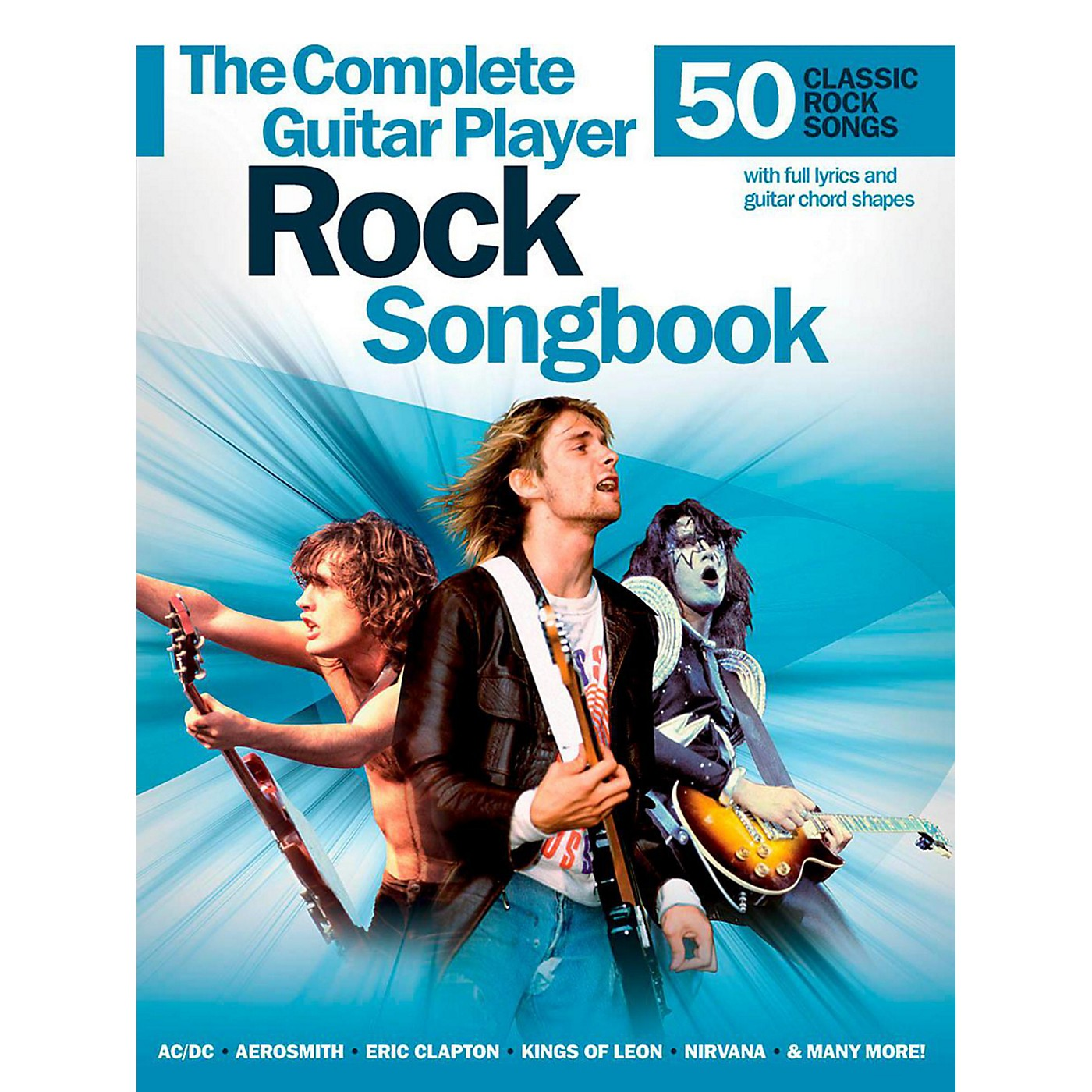 Music Sales Complete Guitar Player Rock Songbook thumbnail
