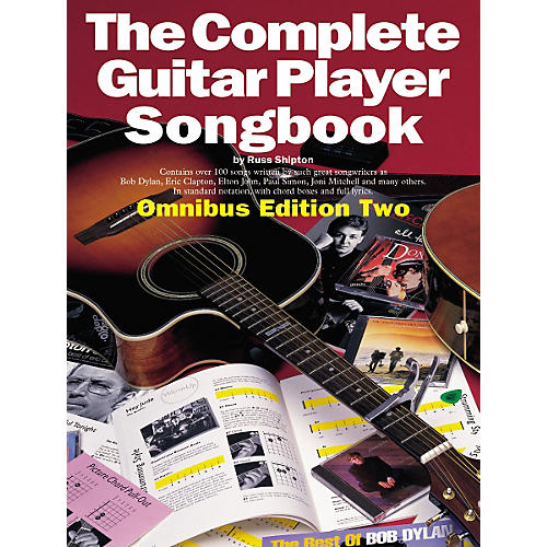 Music Sales Complete Guitar Player Tab Songbook Edition 2 thumbnail