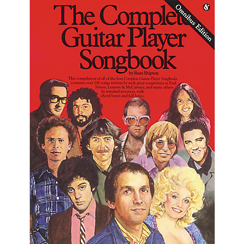 Music Sales Complete Guitar Player Tab Songbook Omnibus Edition thumbnail