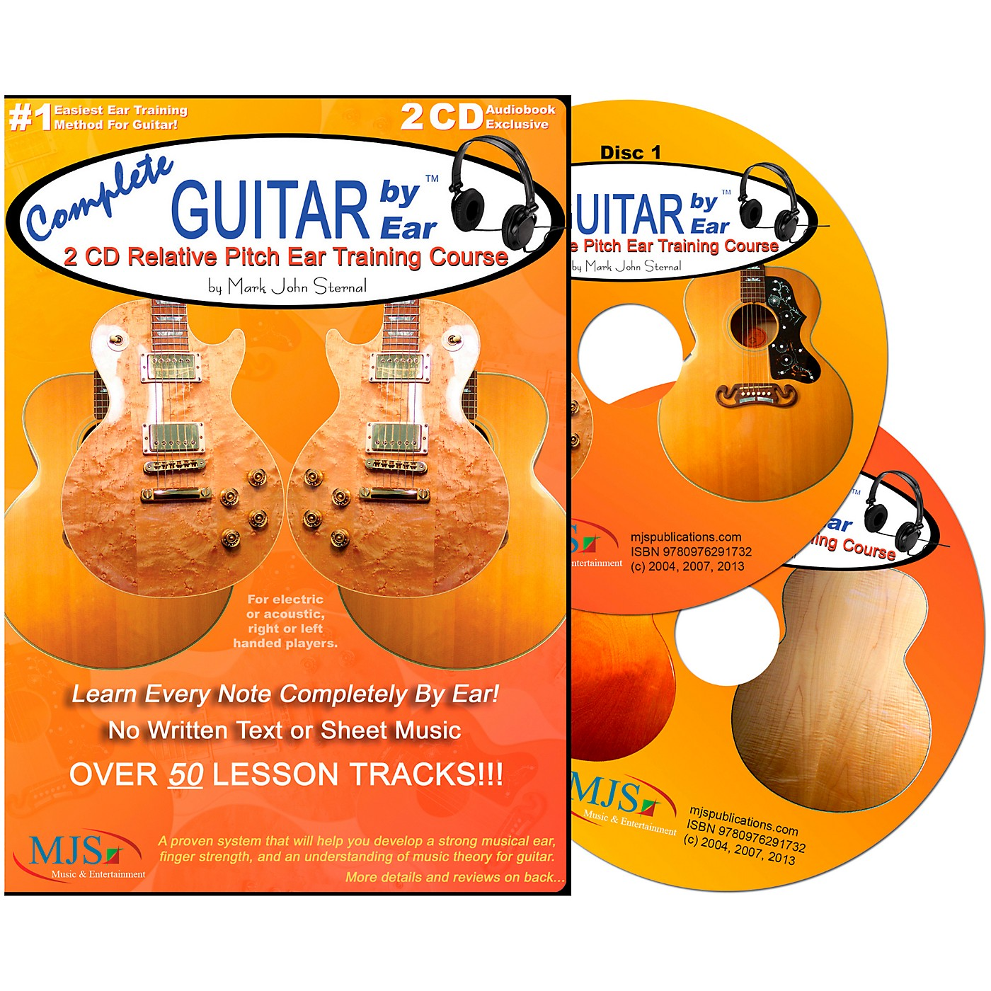 MJS Music Publications Complete Guitar by Ear (2 CDs) thumbnail