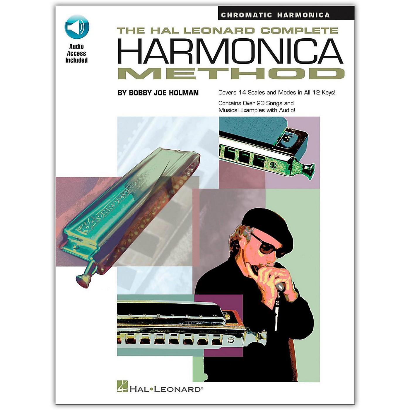 Hal Leonard Complete Harmonica Method - Chromatic Harmonica (Book/Online Audio) thumbnail