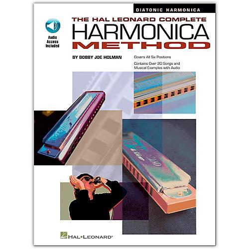 Hal Leonard Complete Harmonica Method - Diatonic Harmonica (Book/Online Audio)-thumbnail