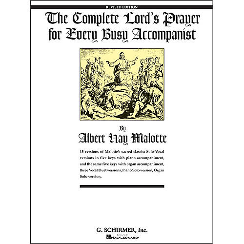 G. Schirmer Complete Lord's Prayer for Every Busy Accompanist thumbnail