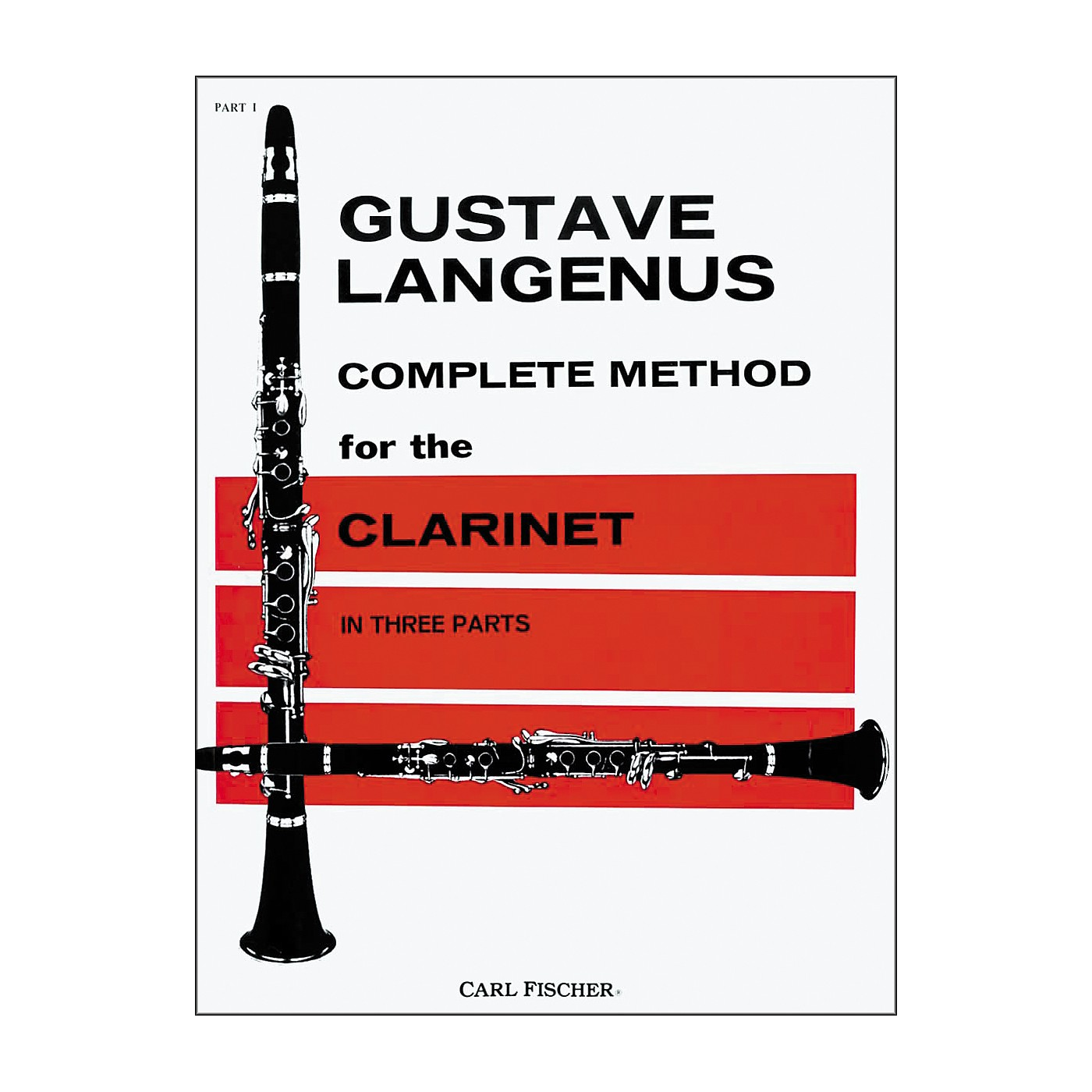 Carl Fischer Complete Method For The Clarinet Book thumbnail