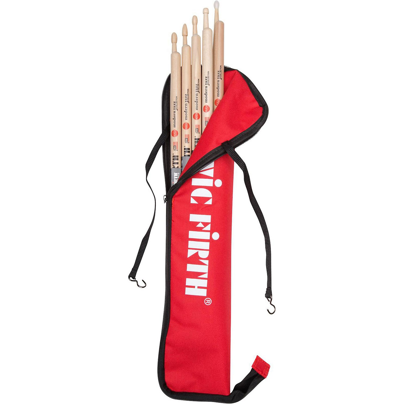 Vic Firth Complete Modern Jazz Collection Drum Sticks With Free Stick Bag thumbnail