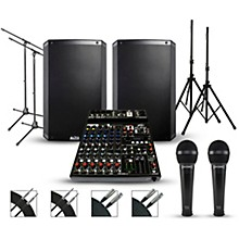 Peavey Complete PA Package with Peavey PV10AT Mixer Alto Truesonic 2 Series Speakers