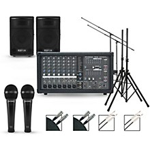 Phonic Complete PA Package with Powerpod 780 Plus Mixer and Kustom KPX Series Speakers